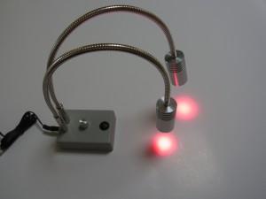 発光波長660nmの大学研究用照明
