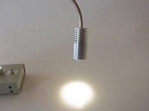 高照度(280,000Lux)のスポット照明